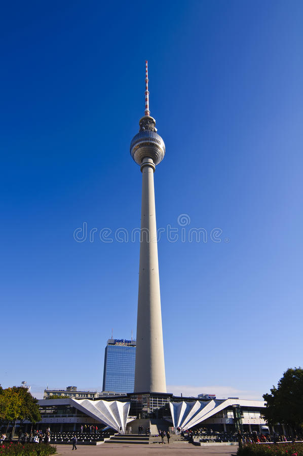 Alexanderplatz à Berlin image libre de droits