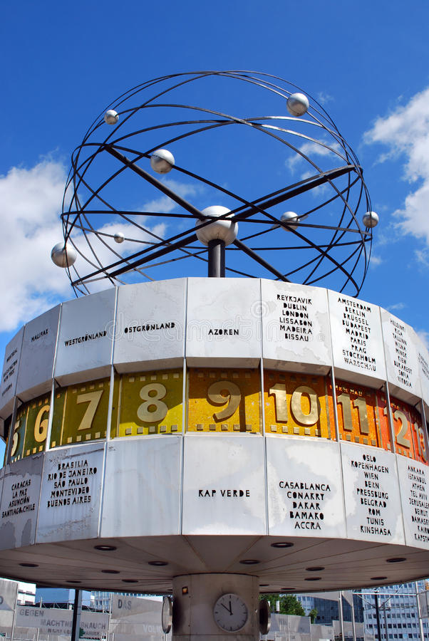 alexanderplatz Βερολίνο στοκ φωτογραφία με δικαίωμα ελεύθερης χρήσης