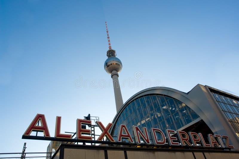 Alexanderplatz Lizenzfreie Stockfotografie