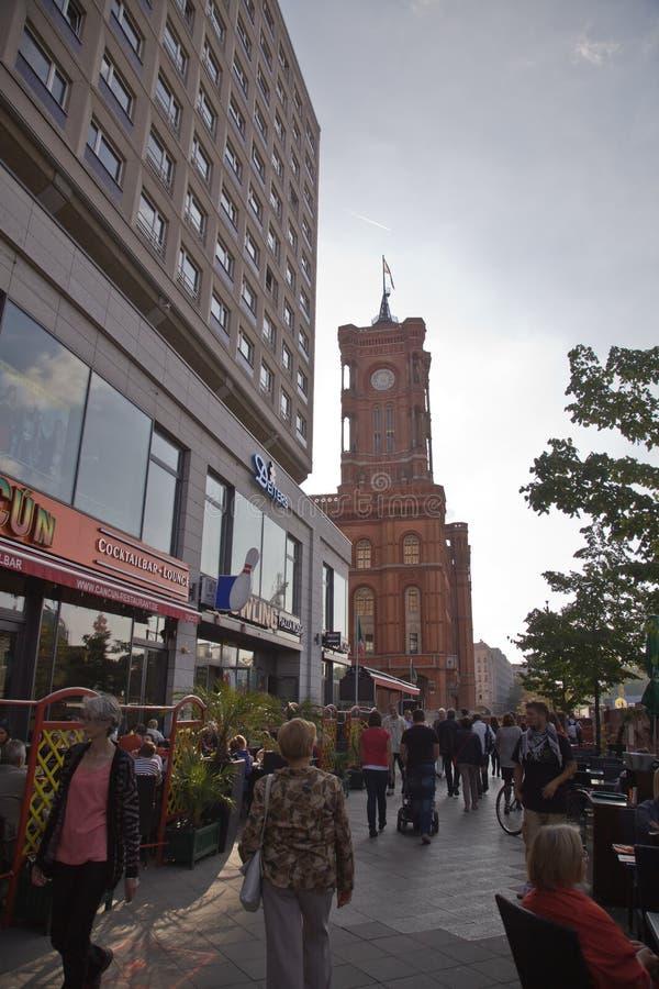 Alexanderplatz, Berlim fotos de stock
