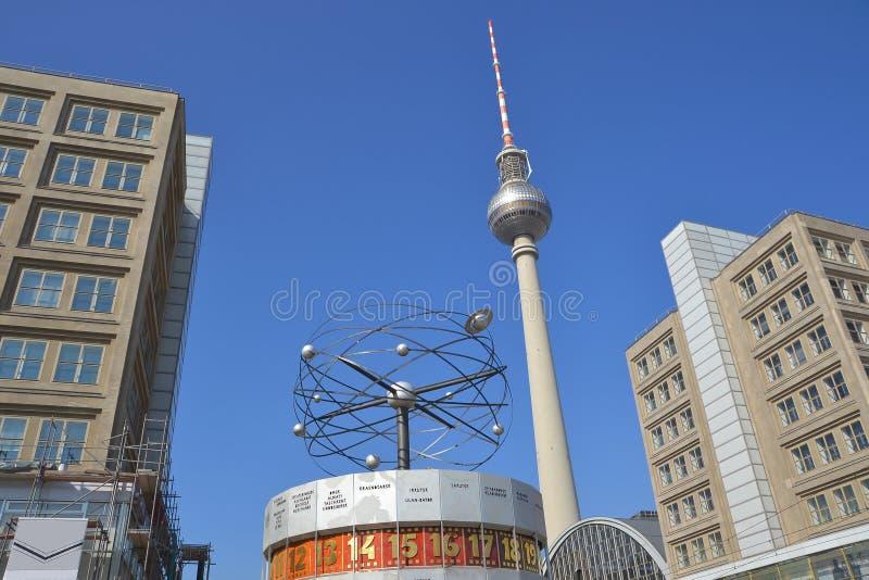 Download The Alexanderplatz In Berlin Stock Photo - Image of landmark, mitte: 31906988