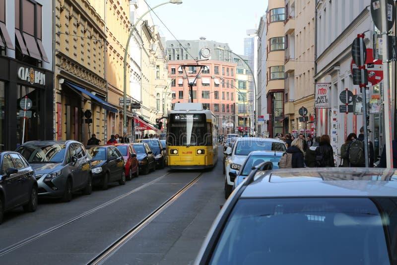 Alexanderplatz, Berlin, Tyskland och det berlin TVtornet arkivfoton