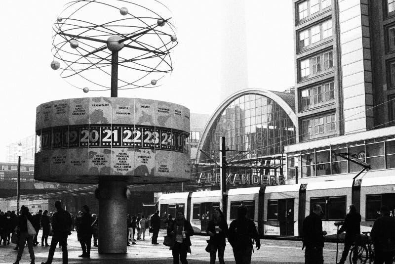 Alexanderplatz de Berlim foto de stock