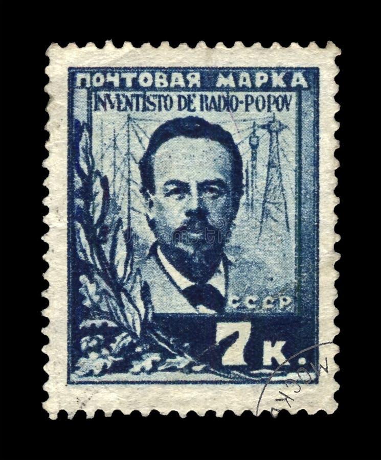 Alexandr Popov, berühmter russischer Radiopionier, Pionier der drahtlosen Übertragung, UDSSR, circa 1925, stockfotos