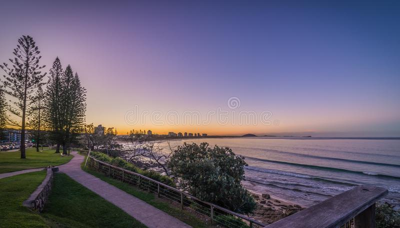 Alexandra Headland Sunshine Coast Australia imagen de archivo libre de regalías