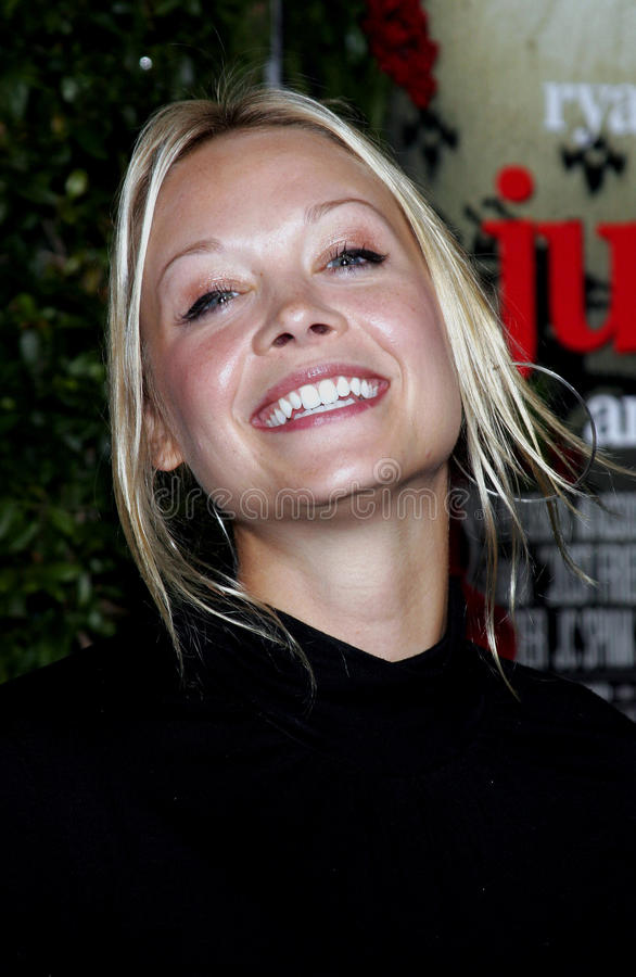 Alexandra Holden. WESTWOOD, CALIFORNIA. November 14, 2005. Alexandra Holden at the `Just Friends` Premiere at the Mann Village Theatre in Westwood, California royalty free stock images