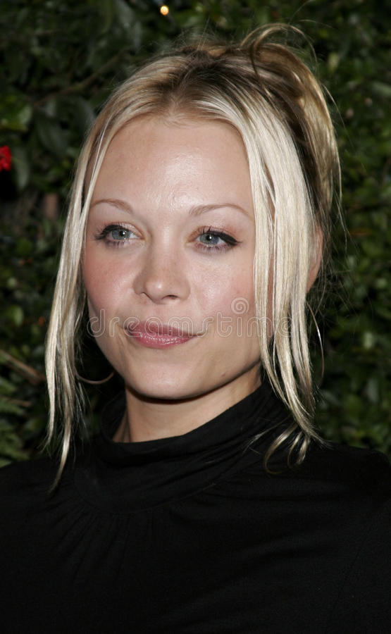 Alexandra Holden. WESTWOOD, CALIFORNIA. November 14, 2005. Alexandra Holden at the `Just Friends` Premiere at the Mann Village Theatre in Westwood, California stock image