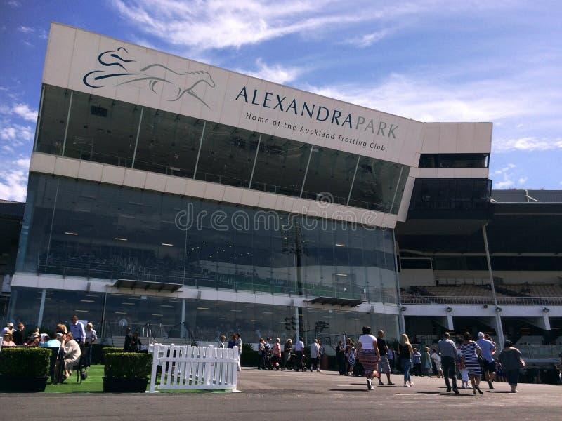 Alexandra Park Raceway in Auckland New Zealand stock photos