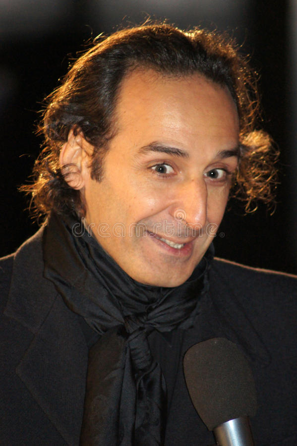 Download Alexandre Desplat At The King's Speech Editorial Stock Photo - Image: 16746718