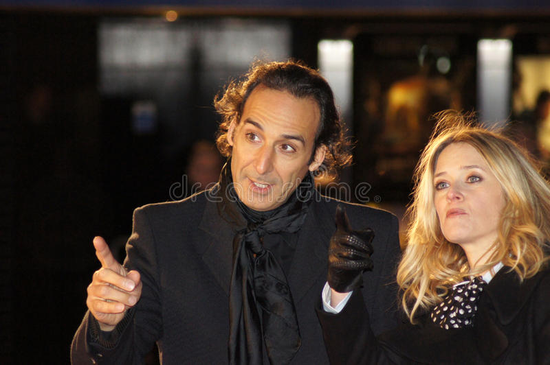 Download Alexandre Desplat At The King's Speech Editorial Stock Image - Image: 16746729