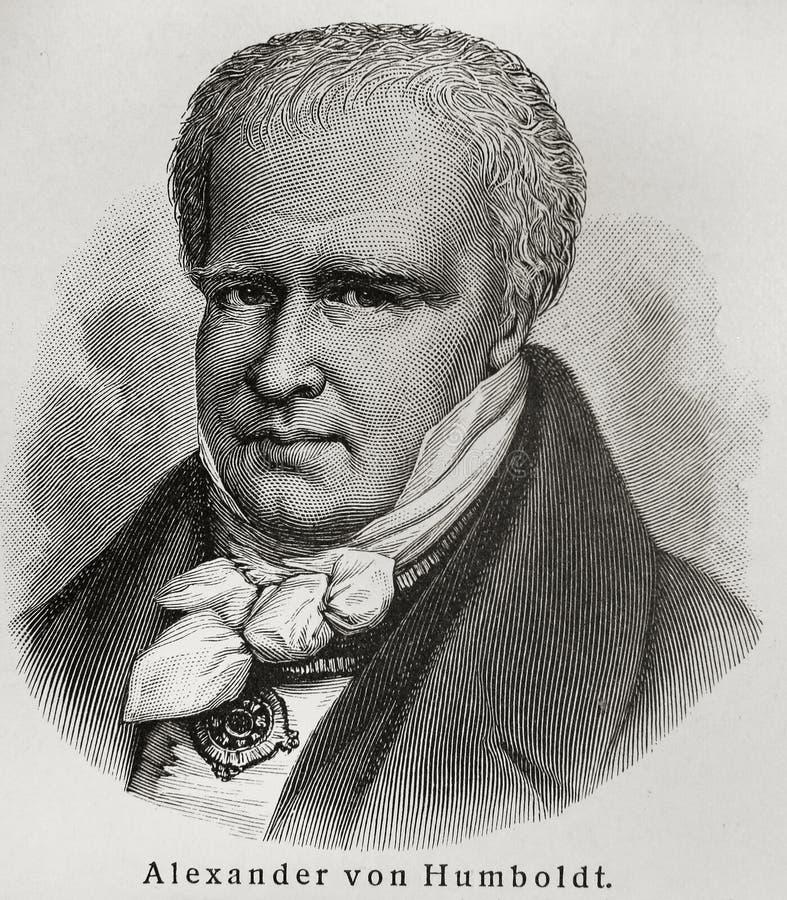 Alexandre Humboldt photographie stock