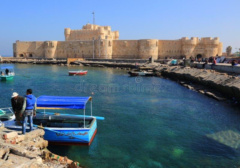 Alexandrië in Egypte stock afbeeldingen