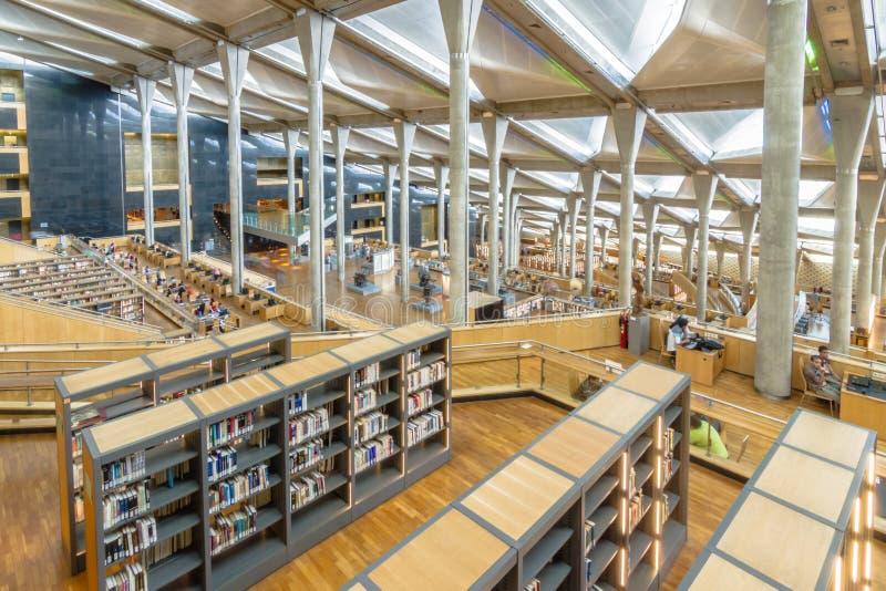 alexandria biblioteka zdjęcia royalty free