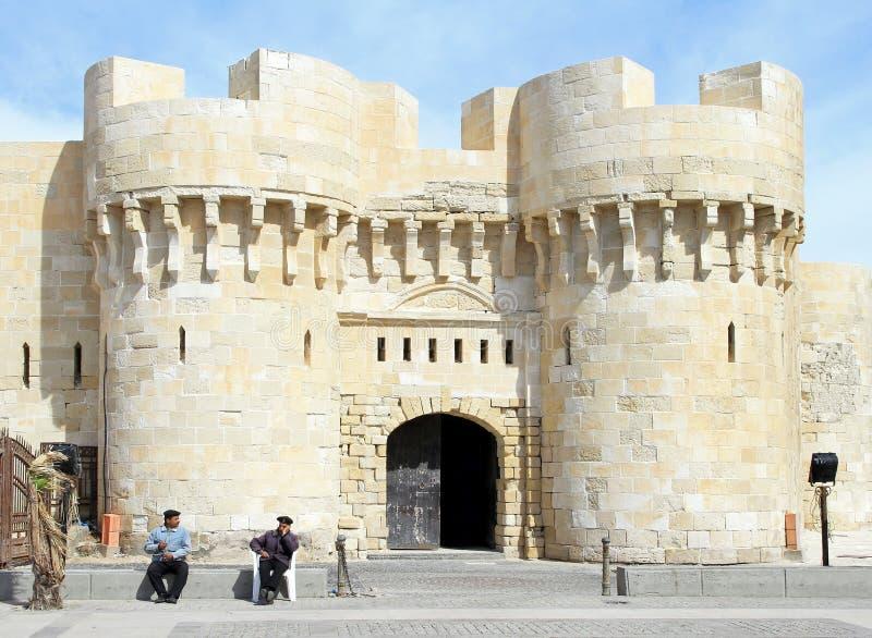 Alexandria-Festung lizenzfreie stockbilder