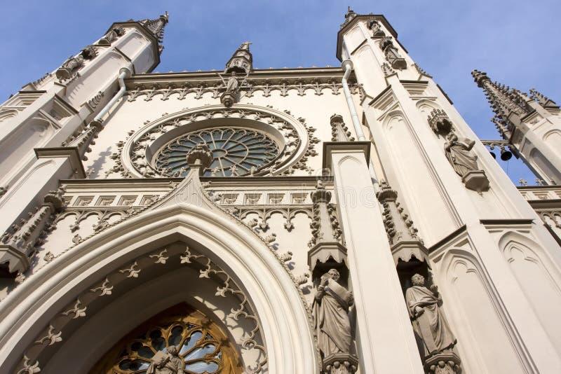 alexandria kaplicy gothic parkowy peterhof zdjęcie stock