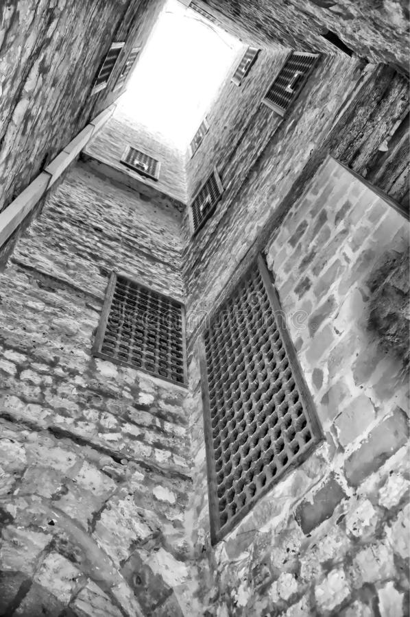 Old Castle. Alexandria old Castle royalty free stock images