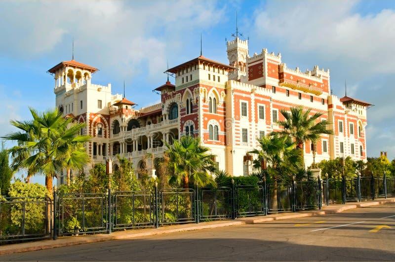 alexandria pałac zdjęcia royalty free