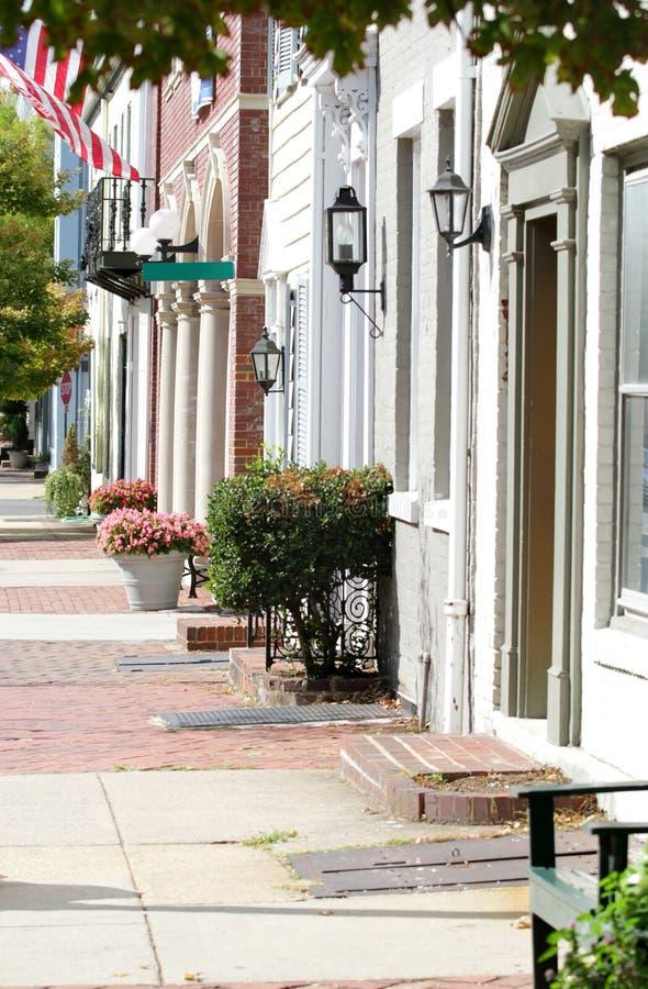 alexandria ulica Virginia obraz stock