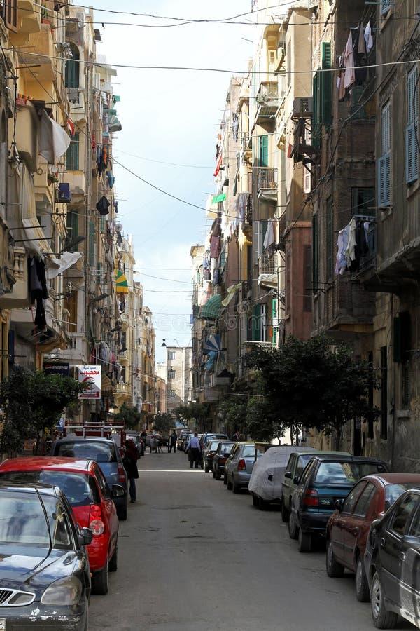 alexandria ulicy zdjęcie stock