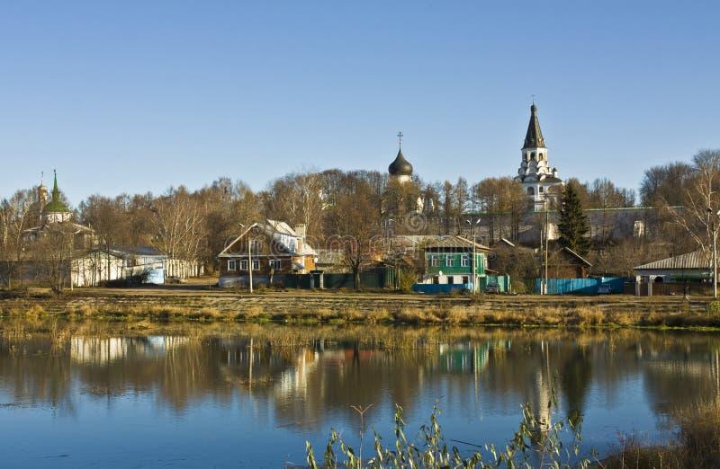 alexandrov uspenskiy修道院的svyato 免版税库存照片