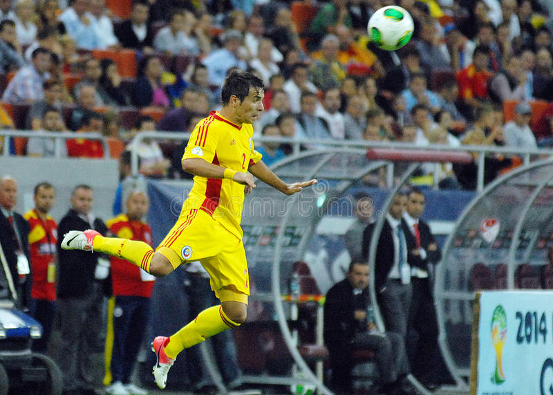 Download Alexandru Matel In Romania-Turkey World Cup Qualifier Game Editorial Photography - Image: 33544737