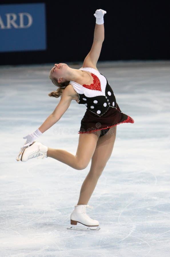 alexe свободный gilles катаясь на коньках США стоковые фото