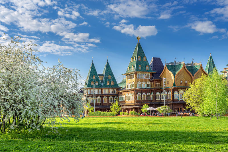 Alexei Mikhailovich Palace lizenzfreies stockbild