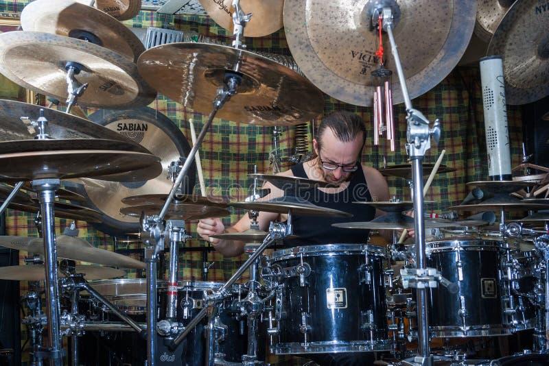 Alexey Bobrovsky melodiskt trumma arkivfoto