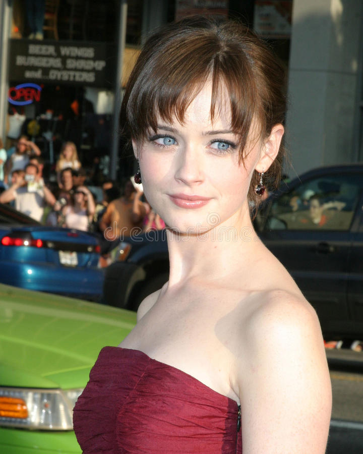 Download Alexis Bledel redaktionelles bild. Bild von hollywood - 26358870