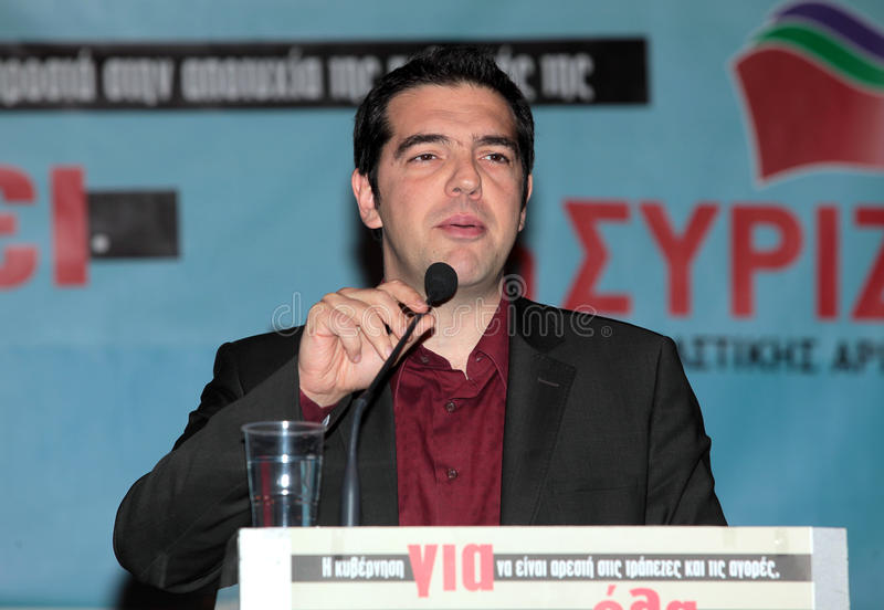 Download Alexis Tsipras editorial image. Image of president, press - 25705065