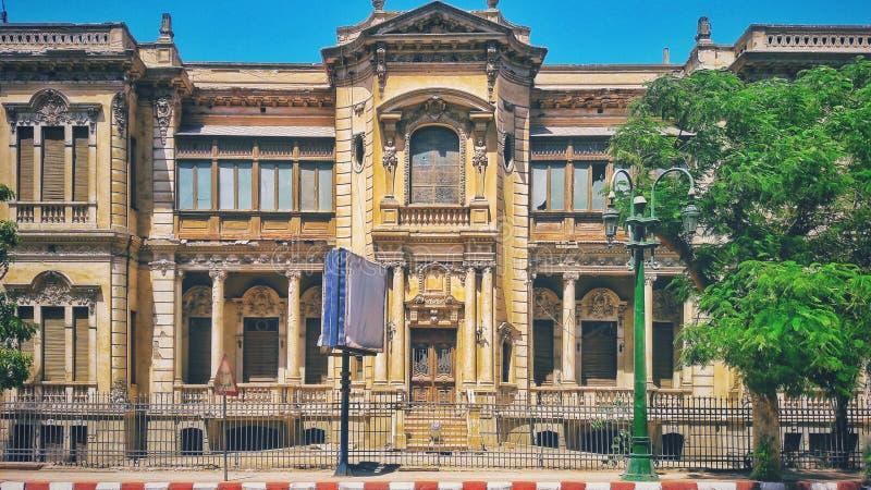Alexon宫殿在Assiut 免版税图库摄影