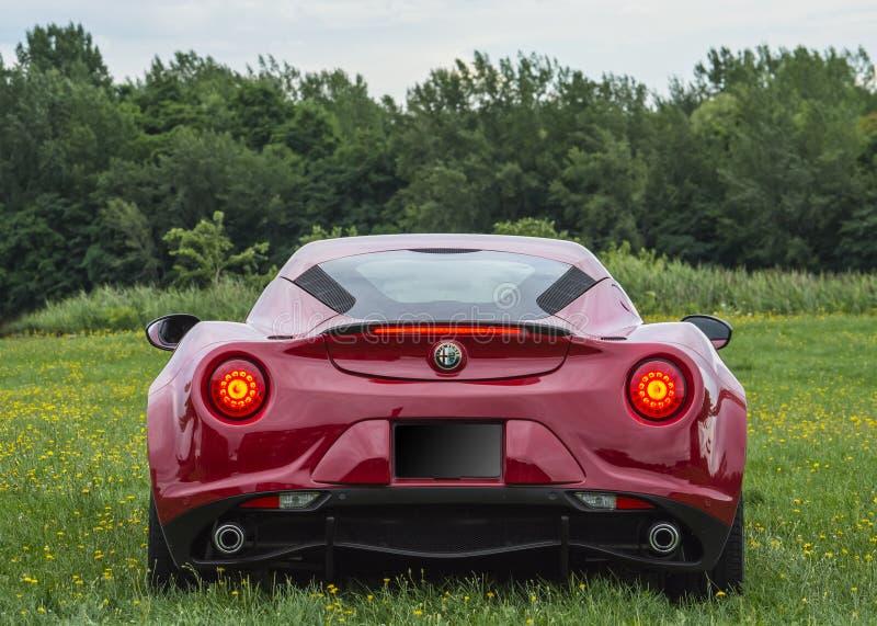 Alfa 4c fotos de stock