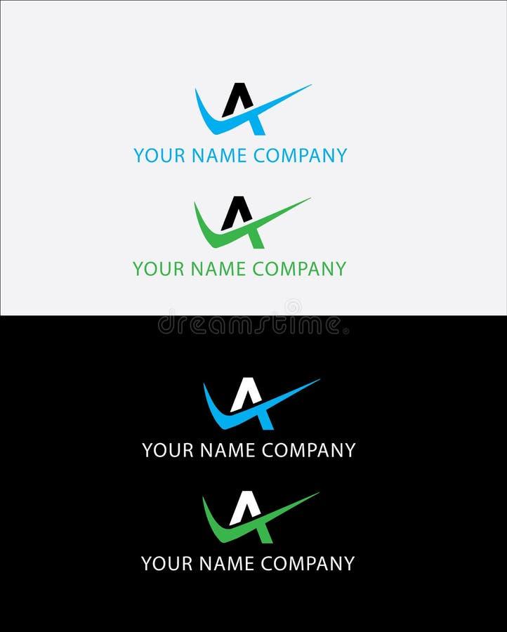 Alfa logo stock photo