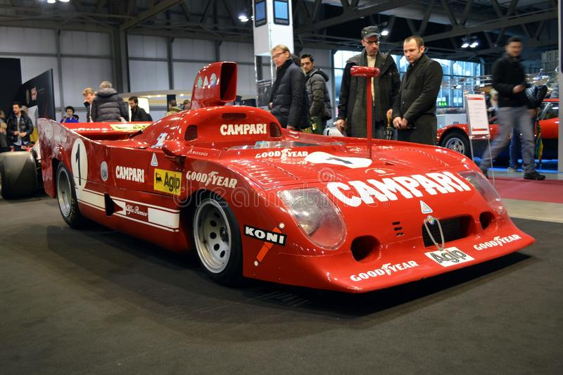 Alfa Romeo 33 TT/12 royalty free stock photos
