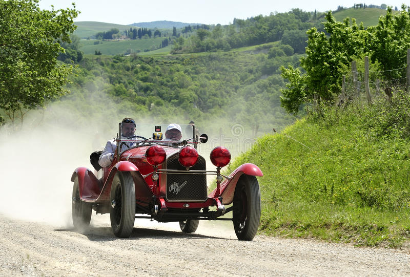 ALFA ROMEO 6C 1750 GS (1930)   fotos de stock