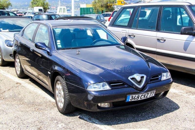Alfa Romeo 166 imagem de stock royalty free