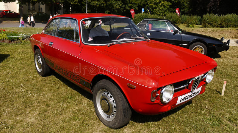 Alfa Romeo Automobiles imagens de stock