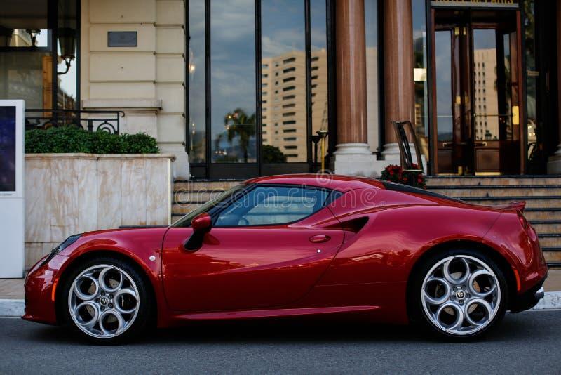 Alfa Romeo 4C foto de stock royalty free