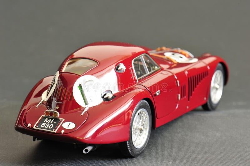 Alfa Romeo 8C 2900B #19 24H Frankreich, 1938 - hintere rechte Ansicht stockfoto