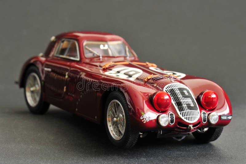 Alfa Romeo 8C 2900B #19 24H Frankreich, 1938 - lado direito dianteiro fotos de stock royalty free