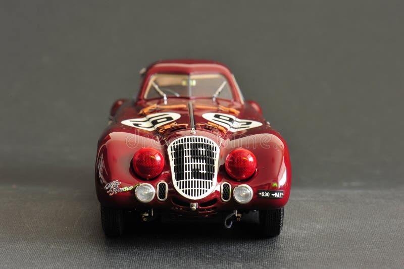 Alfa Romeo 8C 2900B #19 24H Frankreich, 1938 - Vorderansicht stockbild