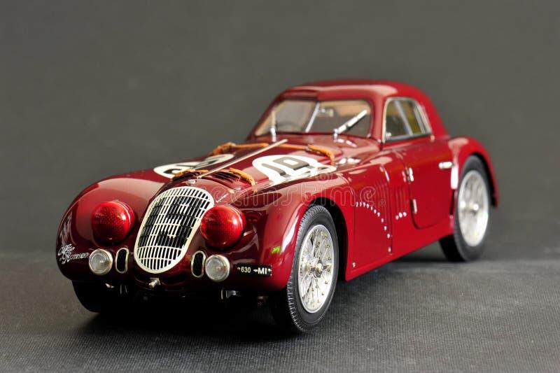 Alfa Romeo 8C 2900B #19 24H Frankreich, 1938 - vordere linke Ansicht stockbild