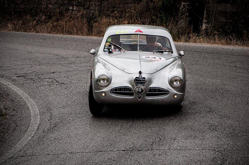 ALFA ROMEO 1900 C Gara 1952 stock foto's