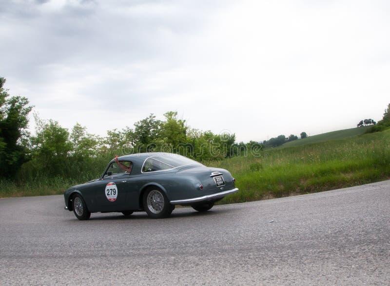 ALFA ROMEO C 1900 sprintar Pininfarina 1953 royaltyfria bilder