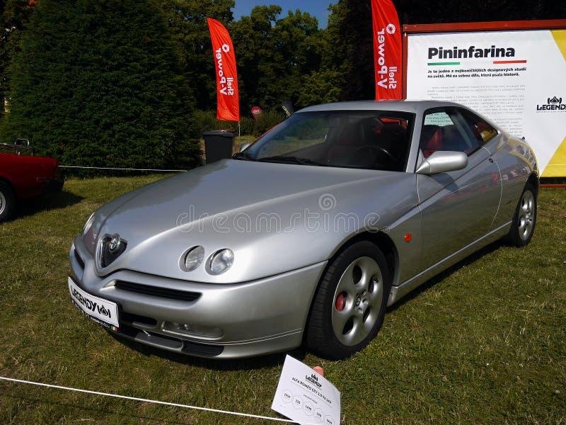Alfa Romeo, carros de esportes imagens de stock