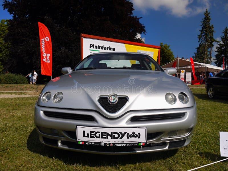 Alfa Romeo, carros de esportes imagem de stock royalty free