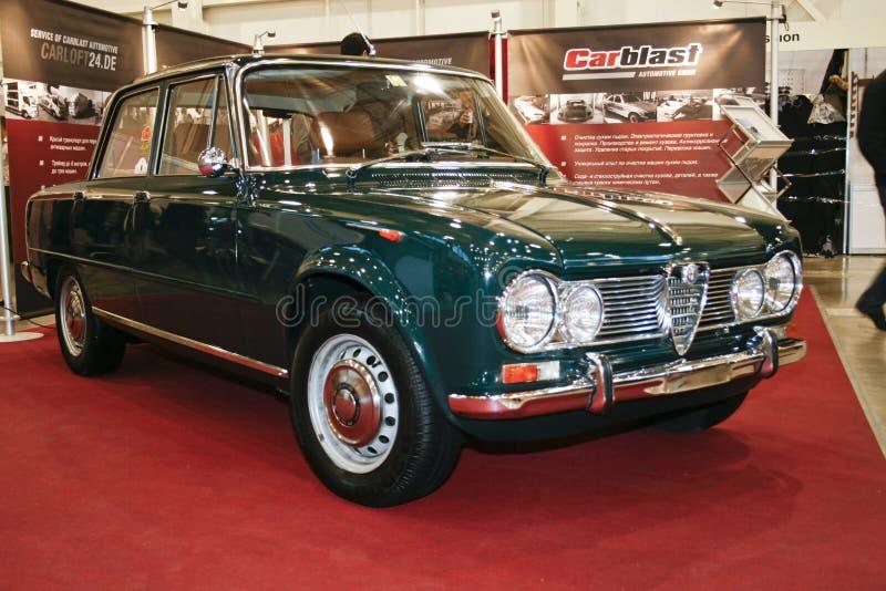 Alfa Romeo Giulia 1600 super, 1965 fotografia de stock