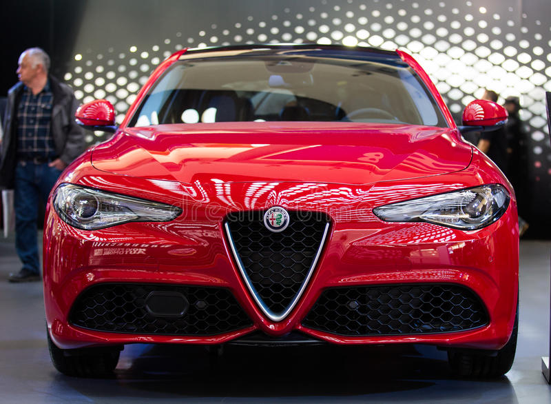 Alfa Romeo Giulia foto de stock royalty free
