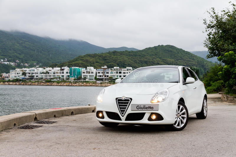 Alfa Romeo Giulietta 2012 imagens de stock royalty free