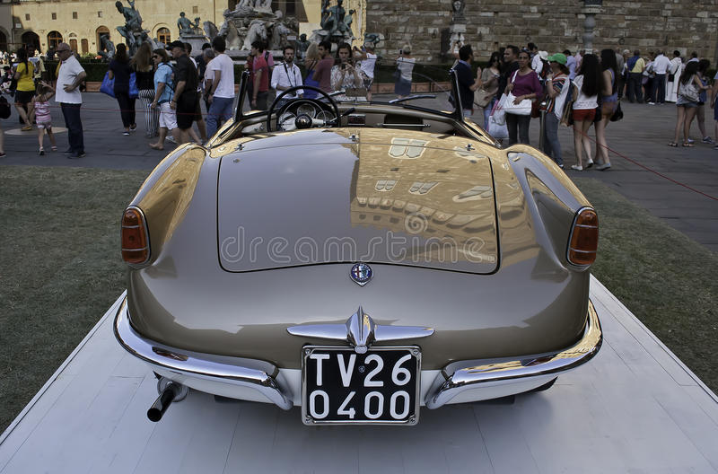 Alfa Romeo Giulietta Spider 1955 fotos de stock